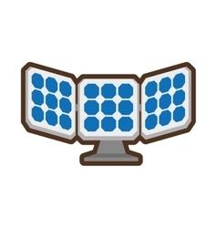 solar panel energy alternative vector image
