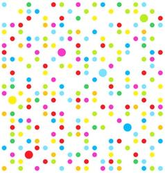 seamless dots vector image vector image