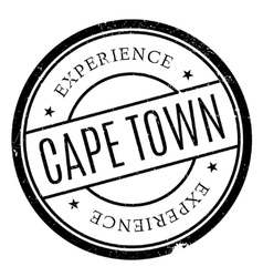 Cape town stamp vector