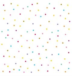 Confetti seamless pattern Festive background vector image