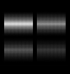 vertical gradient halftone circle dots backgrounds vector image