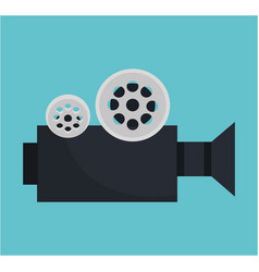 Video camara movie icon vector