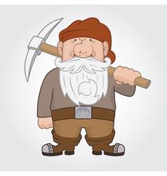 Dwarf vector image
