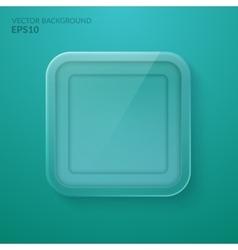 Glass framework Eps10 vector image