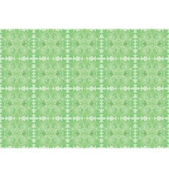 seamless pattern made of shamrock vector image vector image