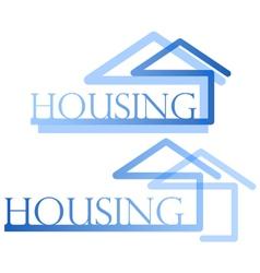 Housing symbol vector image vector image