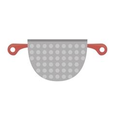 kitchen cookware pot tool vector image