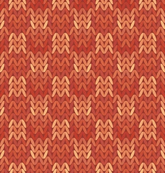 Beautiful geometric pattern Knitwear vector image