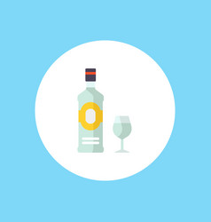 gin icon sign symbol vector image