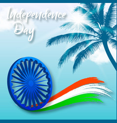 independence day of india vector image
