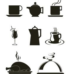 Kitchen wares vector image