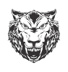 Scary Wolf vector image