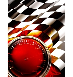 Racing Background Vertical vector image vector image