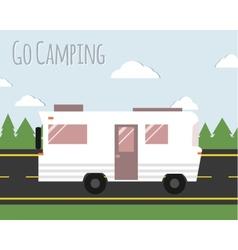 Summer Camping vector image