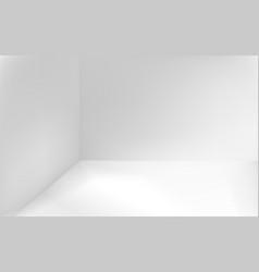 Angular minimalistic white background vector