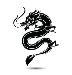 Chinese dragon3 vector