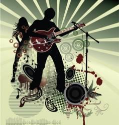 live club gig vector image