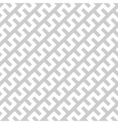 White zigzag lines in diagonal arrangement on grey vector image vector image
