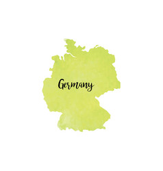 Abstract germany map vector