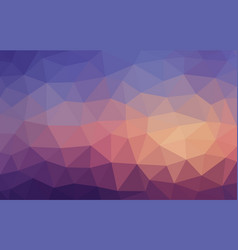 bright multicolor blue and brown low poly vector image