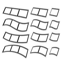 filmstrips for photography concept eps10 vector image