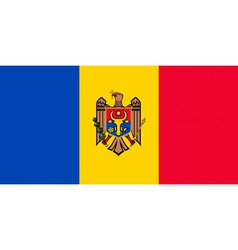 Moldovan flag vector image