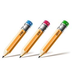 pensil set vector image