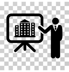 Realty Presention Icon vector