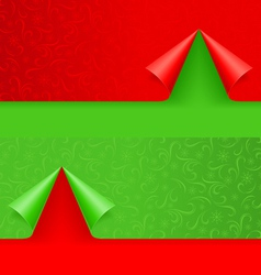 christmas background winter seamless pattern for vector image vector image