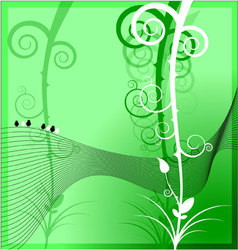 Framework nature background vector image vector image