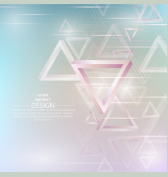Abstract background from penroses triangles vector