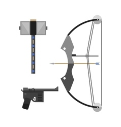 crossbow arbalest vector image