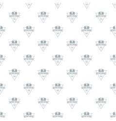 retro music pattern seamless vector image