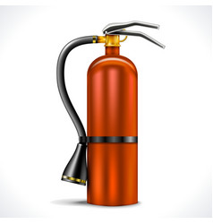 Vintage Fire Extinguisher vector image