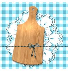 wooden utensil13 vector image