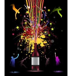 funny party vector image