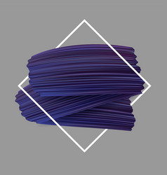 Background with purple paint brush strokes vector