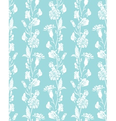 Blue flowers 4 380 vector