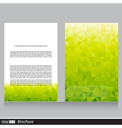 Business flyer with space for text vector image