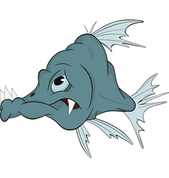 Deep-water fish vector image