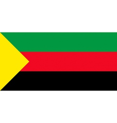 Flag of the state of Azawad vector image