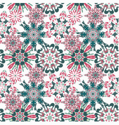gentle seamless pattern on a light background vector image