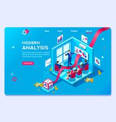 Modern concept analysis vector