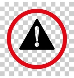Warning Rounded Icon vector