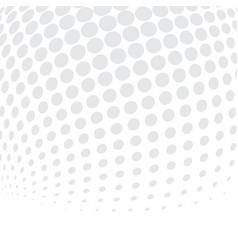 white bg halftone02 vector image vector image