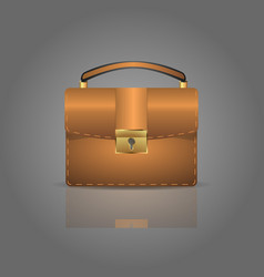 icons luggage flat style suitcases and backpacks vector image