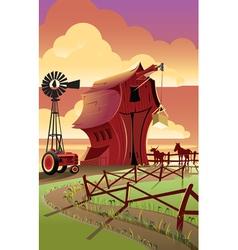 Farm2 vector image