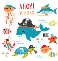 Pirates vector image vector image