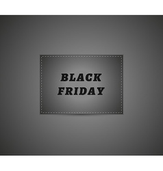 Black friday abstract panel vector