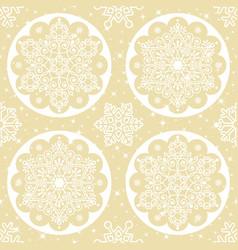 christmas folk pattern vector image
